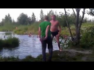 Каратист и водяной)